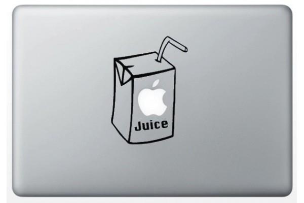 autocollant-apple-juice-pour-macbook