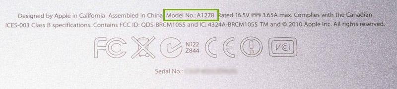 numero-du-modele-macbook-pro-unibody