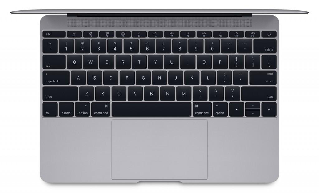 nouveau macbook clavier trackpad