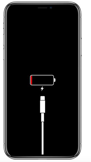 problème de chargement iphone