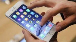 problème écran tactile iphone