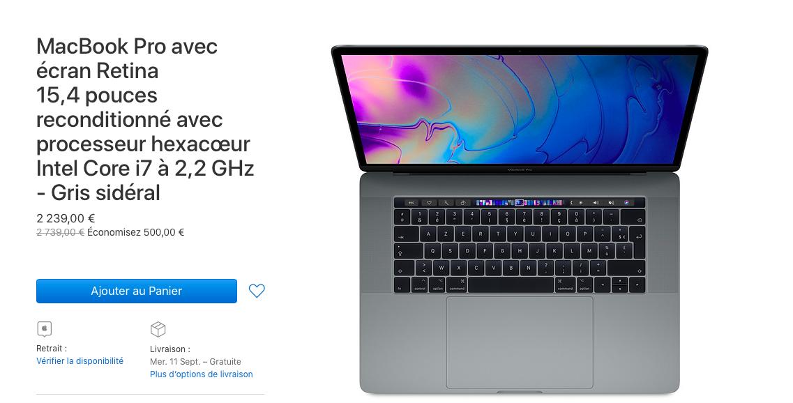 baisse prix ordinateur portable apple