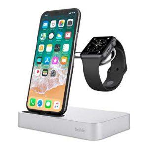 station de recharge Belkin Valet pour iPhone et iWatch