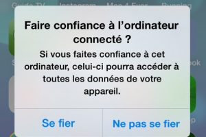 synchonisation iphone et macbook