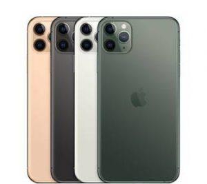 coloris iphones 11 pro et pro max