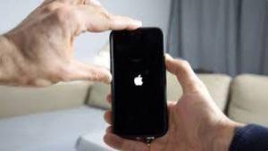 problème chargement iphone redémarrage forcé