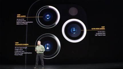 Triple objectif sur iPhone 11 Pro et iPhone 11 Pro Max